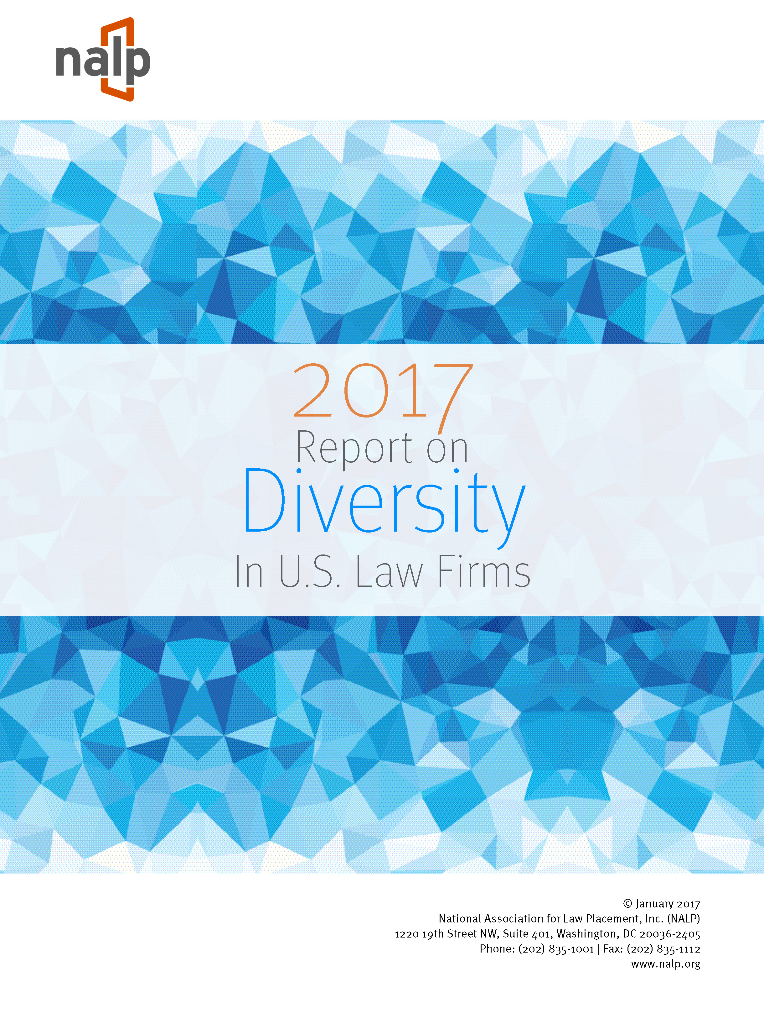NALP 2017 Report on Diversity in U.S. Law Firms