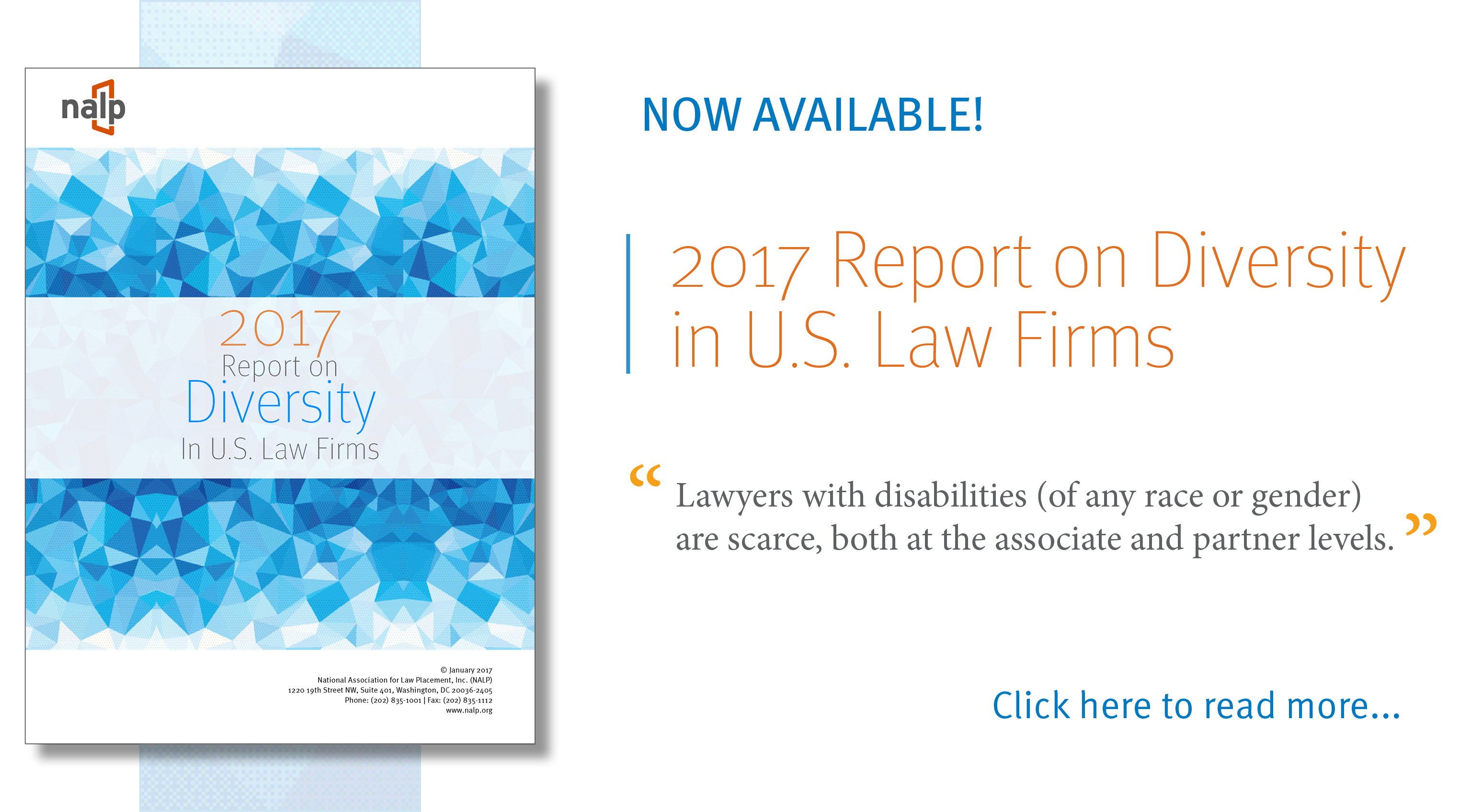 2017 Report on Diversity in U.S. Law Firms Feature Image