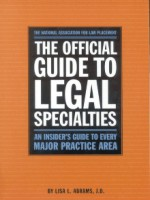 The Official Guide to Legal Specialties