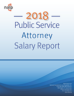 2018 Public Service Attorney Salary Report