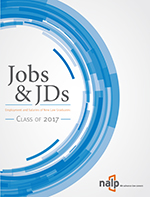 Jobs & JDs: Employment and Salaries of New Graduates, Class of 2017
