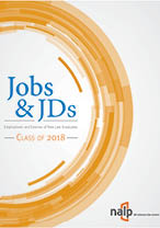Jobs & JDs: Employment and Salaries of New Graduates, Class of 2018